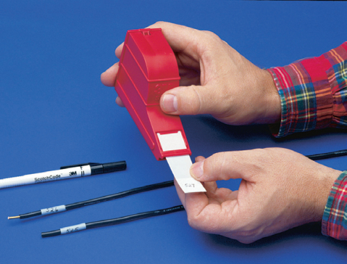Cable Markers Product : M scotchcode cable markers write on technologies