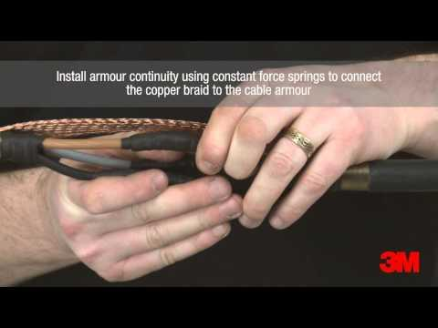3M™ Scotchcast™ Economy Low Voltage Inline Resin Joint - 3M Electrical Supplies
