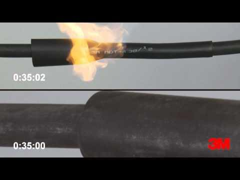 Cold Shrink vs. Heat Shrink Tube Demonstration - 3M Electrical Supplies